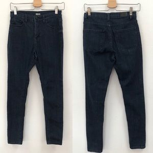 BDG high rise twig dark wash jeans ankle 27